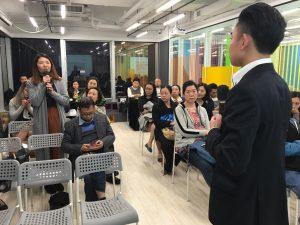 參加科技券講座的參加者踴躍發問